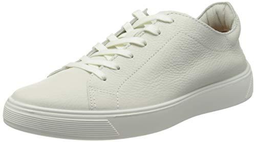 ECCO Herren Street Tray Sneaker niedrige Turnschuhe, White, 42 EU