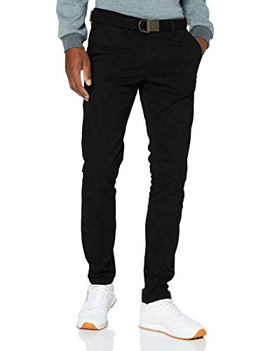 Teddy Smith 10114794D Pants, Charbon, 33 Homme