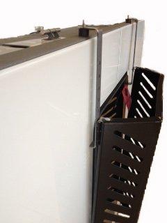 KALAMI' 5: Para proteger al bebé. Cubre el vidrio de la estufa, para la protección de la infancia, fabricado en acero.