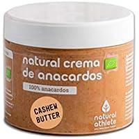 Crema de Anacardos BIO Natural Athlete 100% Anacardo Sin Azúcar, Orgánica, Sin Gluten - 300 g