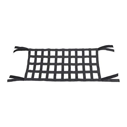 Lading Nylon Net, Flexibele Elastische Nylon Achter Lading Organizer Universele Lading Net Elastische Nylon Mesh Opslag Organizer Auto Net, voor Veilige Auto Organizer met Verstelbare Band