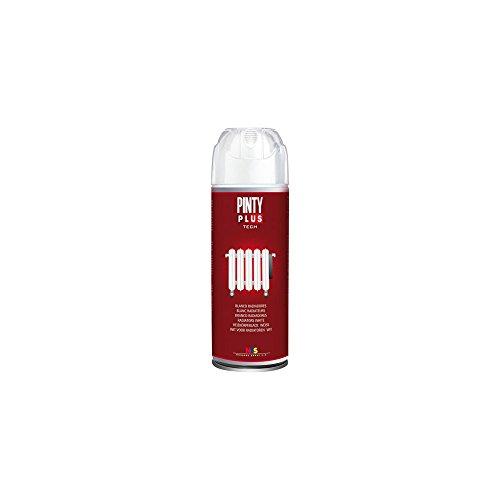 Pintyplus tech - Pintura en Spray para Radiadores520cc, Blan