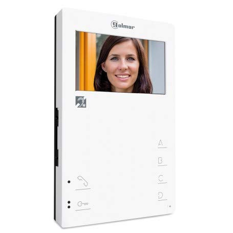 "Monitor manos libres Golmar color con pantalla de 4,3"" Tekna-HF PLUS"