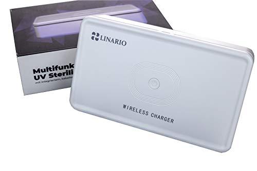 LED UV Sterilisator für Handy Smartwatch Schmuck und Kleidung 99,99% Aller Bakterien