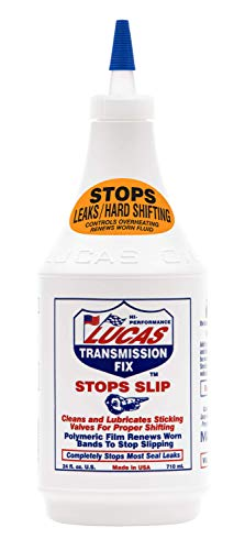 LUCAS LUC10009 Transmission Fix 24 oz, Brown