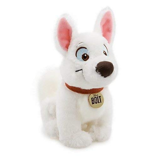 Disney Exclusive BOLT Plush Mini Bean Bag Toy - BOLT 6 1/2 H