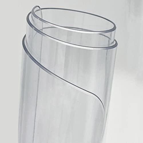 Wyczyść Plastic Table Protector PVC. Obrusy Okładka Podkładka winylowa Obrusy blachy Przezroczyste Meble Topper Kitchen Clottop Pad Mata/Kids Party Tabela Pokrywy (60 × 120/70 × 140/90 × 160 cm)