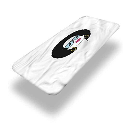 LCGGDB Afro - Mantel ajustable de poliéster para mesa de pícnic, estilo hippie, pendientes con bordes elásticos, 76,2 x 182,8 cm, para mesa plegable, para interiores y exteriores