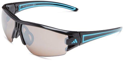 adidas Eyewear - Sonnenbrille, Evil Eye Halfrim, Größe XS, Farbe schwarz, glänzend