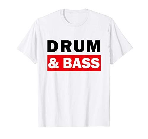 Drum And Bass Music DJ dnb Camiseta
