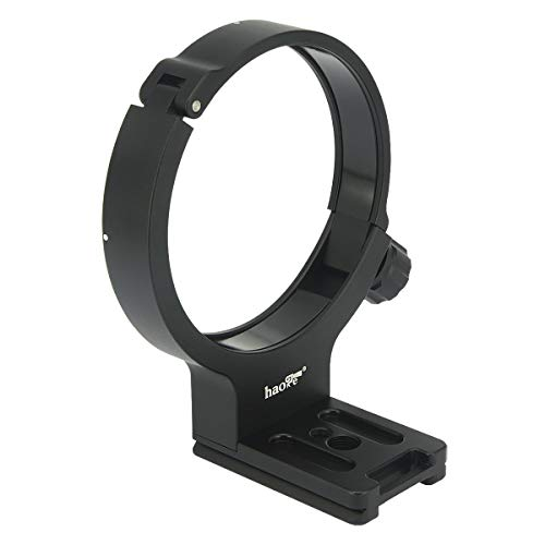 Haoge LMR-TL140 Lens Collar Replacement Foot Tripod Mount Ring Stand Base for Tamron 100-400mm f/4.5-6.3 Di VC USD A035 Lens Built-in Arca Type Quick Release Plate Replace Tamron A035TM