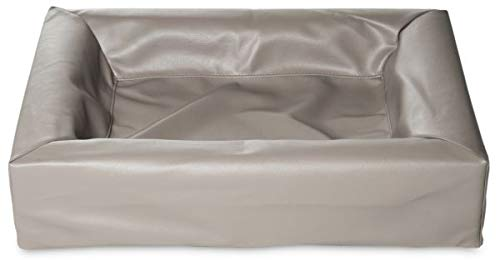 Bia kunstleer hoes hondenmand 1 45x45x12cm TAUPE