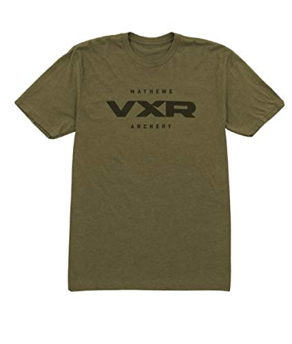 Mathews VXR Tee (3X-Large) Heather Green