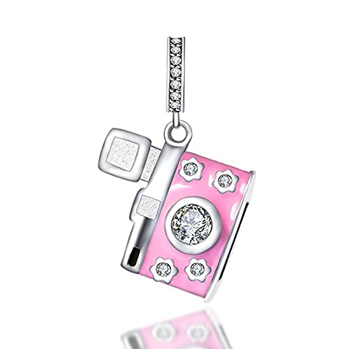 Collares Mujer Charm S925 Plata Familia Amor Diamante Perforación Pulsera Pinchos Pinchos Accesorios Colgantes-A