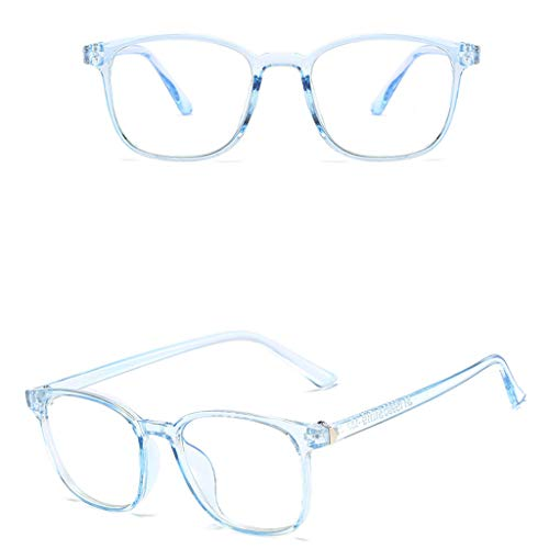 FORUU Glasses, Unisex Round Computer Readers Eyeglasses Frames for Prescription Lens 2020 Summer Newest Arrival Beach Holiday Party Creative Best Gifts For Boyfriend Under 15 Dollars Free Delivery