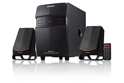 Philips MMS2550B/94 Bluetooth Multimedia Speaker (Black)