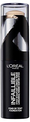 L'Oréal Paris, Infallible Stick de Maquillaje 24h, Tono 180 Beige