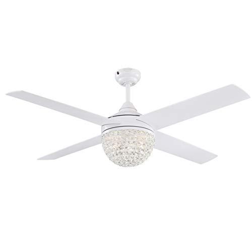 Westinghouse iluminación 72262 Ventilador de techo con luz y control remoto de...