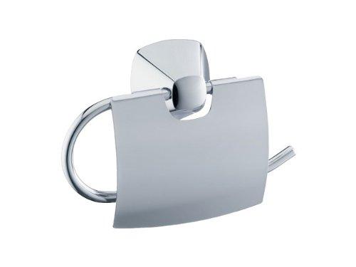 Keuco 02760010000 City.2 Toilettenpapierhalter mit Deckel chrom