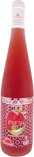 Fresh On -Vino de Fresa Frizzante - Bodegas Privilegio del Condado - 2 botellas de 0,75L