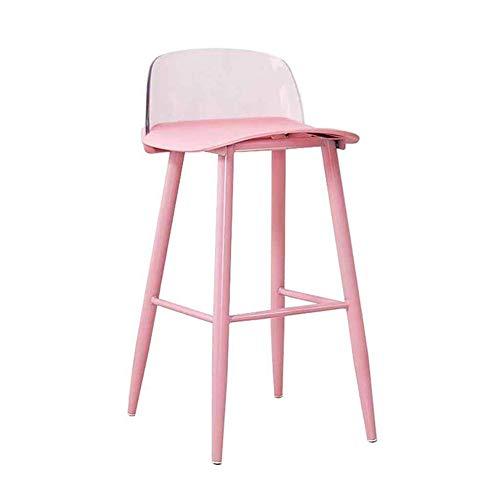 BDWY Bar transparante hoge stoel keuken gesmeed