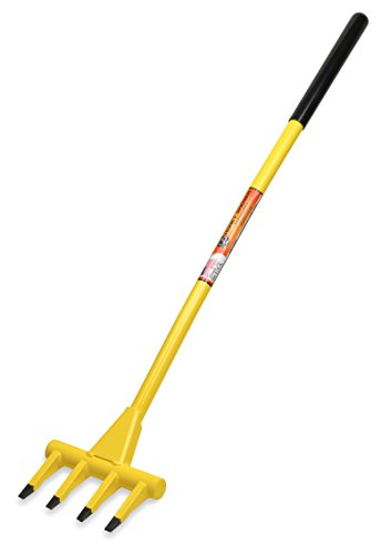 HONEY BADGER HB40 Demolition Fork - 40 inch Wrecking Pry Bar - MADE IN THE U.S.A - THE TRUSTED ORIGINAL - Multipurpose demo tools for flooring, siding, framing, roofing, trim, drywall, and more!