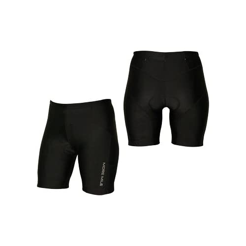 More Mile Triathlon Womens Short - Black