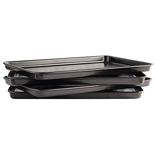 ProCook - Set de plaques à pâtisserie antiadhésives 4 pièces 40cm