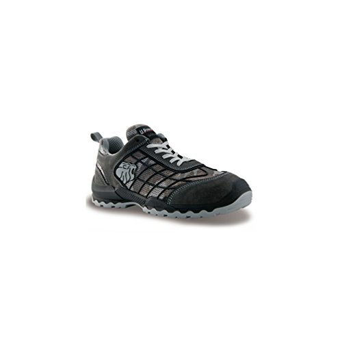 Zapato de seguridad S1P de piel de ante con inserciones de malla transpirable – Mimetic U-Power camuflaje 39