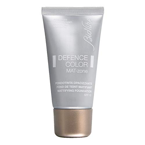 Bionike Defence Color Mat-Zone Fondotinta Opacizzante (Colore 402 Sable) - 30 ml.