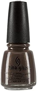 China Glaze Nail Lacquer With Hardeners - 14 Ml, Ingrid - Brown