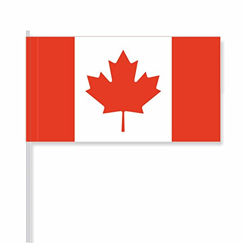 "antrada Papierfähnchen ""Kanada"" (25 Stück)"