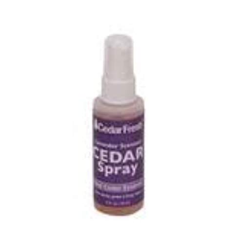 Household Essentials CedarFresh 84802 Cedar Power Spray with Lavender Essence Scent | Protects Closets | Restores Scent to Cedar Wood Accessories | 2 fl. oz.