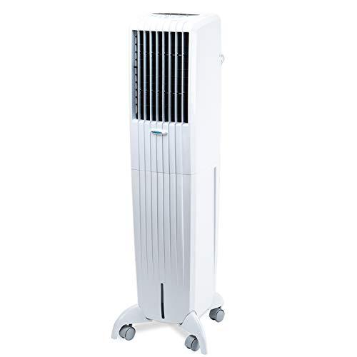 Symphony DIET50I Climatizador evaporativo, 170 W, 50 litros, 65 Decibelios, Plástico, 3 Velocidades, Blanco