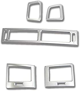 ABS Interior Accessories Car Air Condition Vent Outlet Cover Trim 5PCS for Toyota Land Cruiser LC200 J200 2008-2016
