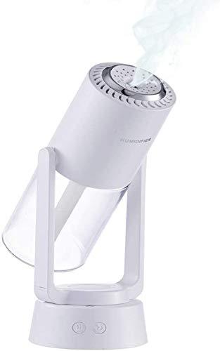 Humidificador de Aire Giratorio automático, pulverizador ultrasónico, purificador de Aire de Iones Negativos con luz Nocturna, humidificador de Escritorio Personal USB