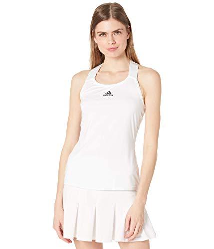 adidas womens Y-TANK White/Black Medium