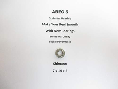 SHIMANO Socorro SOC-4000F RD8554 ABEC5 Stainless Bearing 7x14x5#20