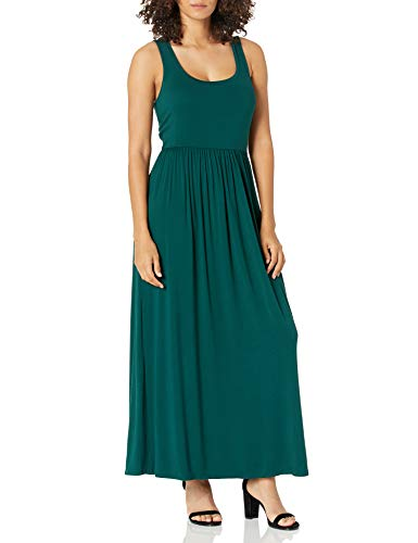 Product Image of the Amazon Essentials Women's Solid Tank Waisted Maxi Dress, Jade, S