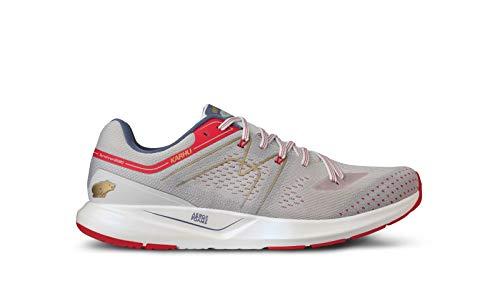 Karhu Synchron Ortix - Zapatillas de correr para hombre, color azul y rojo, color, talla 43.5 EU