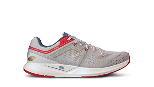 Karhu Synchron Ortix Herren-Laufschuhe, Barely Blue/Fiery Red, - Barely Blue Fiery Red - Größe: 9 UK