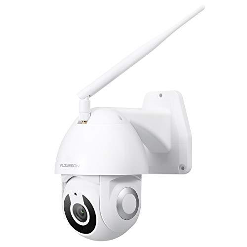 FLOUREON PTZ 1080P WiFi YI IOT CCTV Surveillance Caméra IP Pan / Tilt extérieure Suivi de détection de...