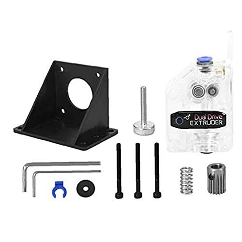 Dual Drive Extruder BMG Deceleration Extruder Dual Drive Dual Gear for 3D Printer Model Making Accessory