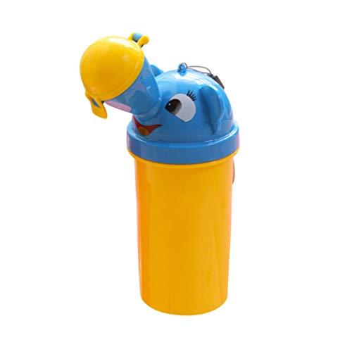 Toyvian Kinder Urinal Flasche Kinder Urinflasche Töpfchen Flaschen Notfall-WC Mobile Toilette für Baby Jungen Mädchen Auto Reise Unterwegs Camping