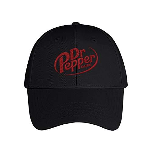 Black Embroidery Black Hat