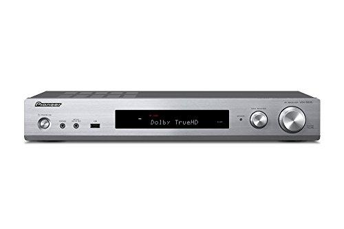 パイオニア Pioneer VSX-S520 スリムAVレシーバー Bluetooth対応/ハイレゾ対応 シルバー VSX-S520(S)  【国内正規品】