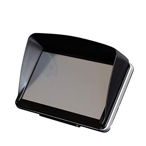 Pantalla Universal Hood Hood Sun Shade Lens Protector Shield para 5/7 Pulgadas de navegación GPS S55 Coche Sun Shade por FENGL DERIVADO (Color : 7inch)