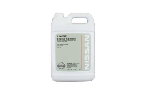 Genuine Nissan Fluid 999MP-AF000P Green L248SP Engine Coolant - 1 Gallon