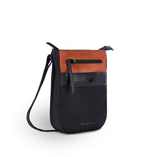 Sherpani Prima, Anti Theft Crossbody Bag, Travel Crossbody Purse, Small Shoulder Bag, Small Purse for Women, RFID Protection (Copper)