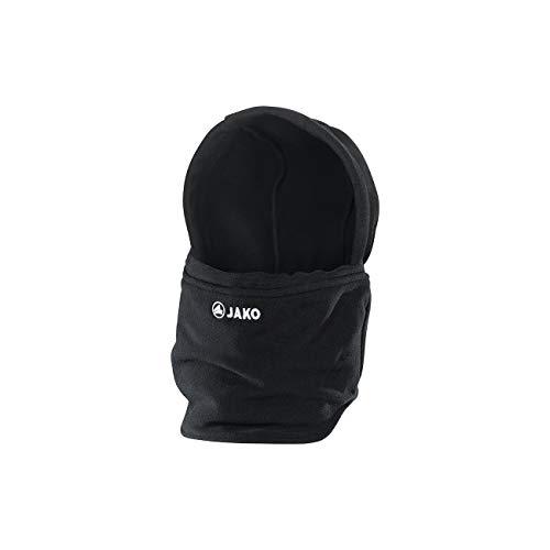 JAKO mit Mütze Neckwarmer, schwarz, One Size (02)